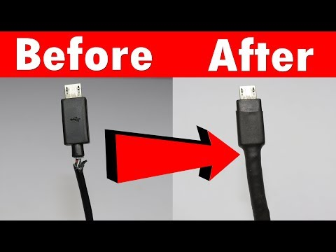 How To Fix Broken Mobile Charger Cable