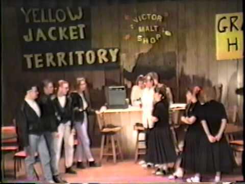 """SCHS 1992 Speech and Drama Musical """"Ducktails & Bobbysox"""""""