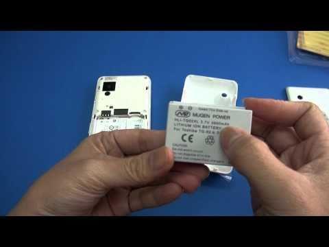 Mugen Power Extended Battery for Toshiba TG02 / Docomo T01B
