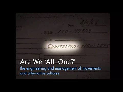 "Charles Shaw at OMC 2014: Are We All One? Social Engineering and the ""Alternative Culture"""