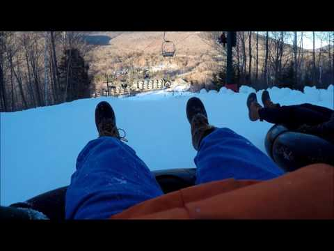 Snow Tubing Loon Mountain Incredibly Fast