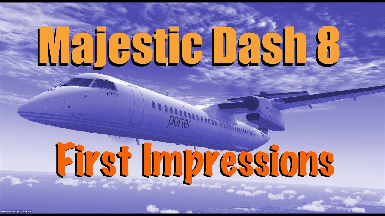 Review of Majestic's Dash 8 – MJC8 Q400 (02/06/2015) – Sky