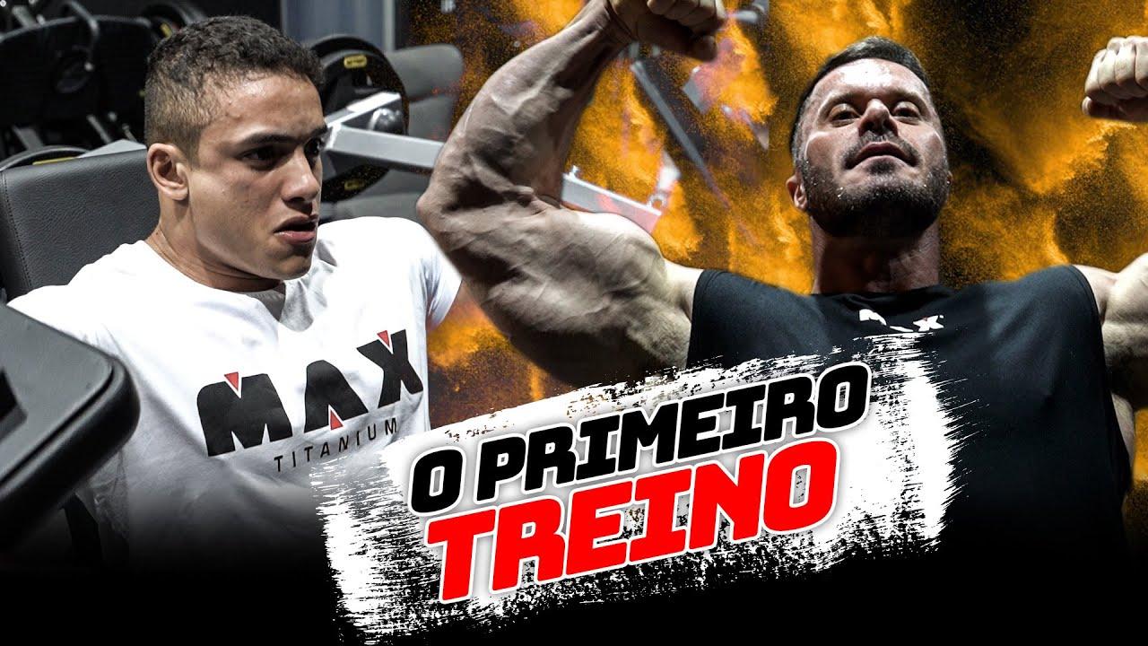 O PRIMEIRO TREINO NO CENTRO DE TREINAMENTO