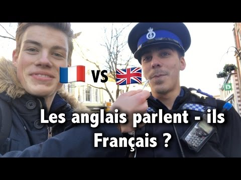 Do English people speak French ?