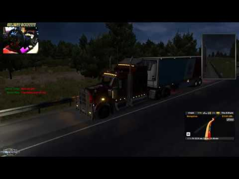 GREAT AMERICAN TRUCK CONVOY+ WHEEL CAM | SILENT SCOTTY`S GAMING WORLD 🌎