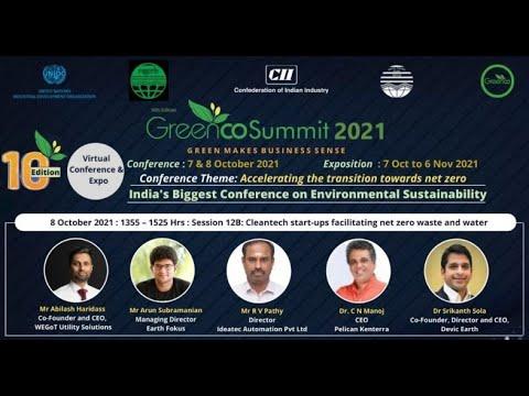 Cleantech start-ups facilitating net-zero waste.
