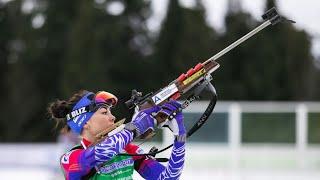 Биатлон Чемпионат России 2021 Масс старт Женщины