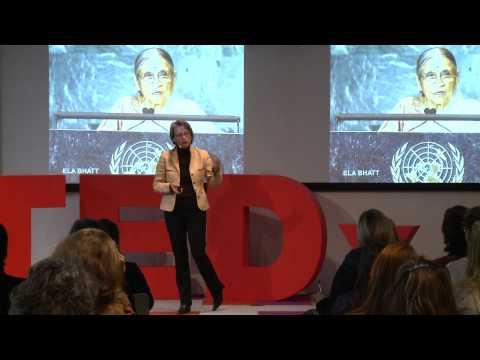 Female leadership - reaching beyond the glass ceiling: Kerstin Plehwe at TEDxBerlinWomen