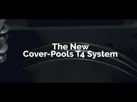 T4 Stainless Steel Cable Automatic Pool Cover System
