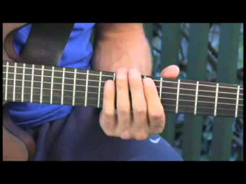 Playing C Dominant 7 Suspended 4 Arpeggios on Guitar