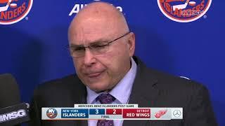 Barry Trotz: Hit on Anders Lee Galvanized Us   New York Islanders   MSG Networks