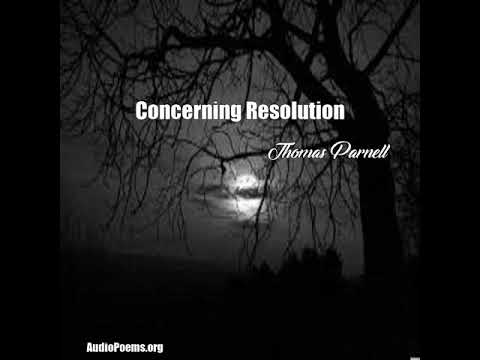 Concerning Resolution (Thomas