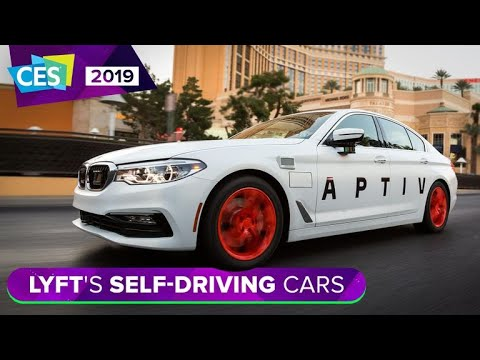 Take a ride with Lyft's self-driving cars at CES 2019