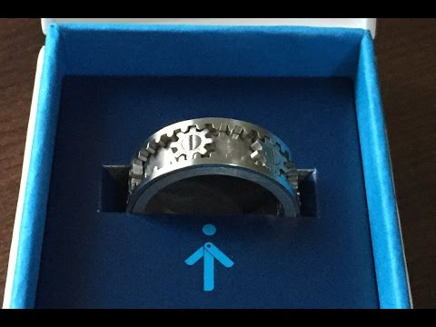Kinekt Gear Cog Ring - Jewellery For Men - UK Review 2015