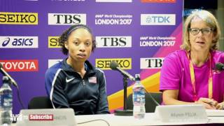 ALLYSON FELIX SAYS THE 400M IS STILL A CHALLENGE & SHE IS TRYING TO WORK IT OUT