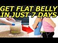 Get Flat Belly/Stomach In 7 Days - No Diet/No Exercise | Flaxseed Water For Weight Loss