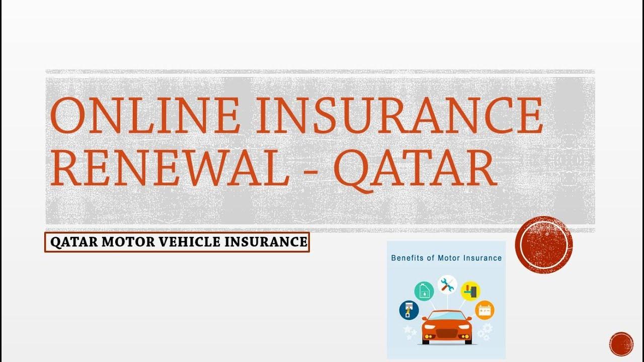 Online Vehicle Insurance Renewal Qatar Youtube