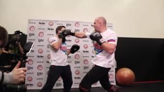 Фёдор Емельяненко Fedor Emelianenko vs Matt Mitrione full fight media workout