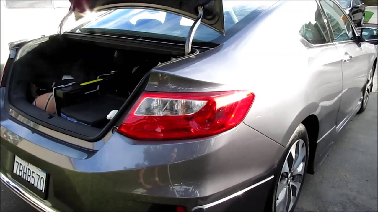 2014 honda accord mods  2013 2014 Honda Accord Coupe Trunk Mod - YouTube