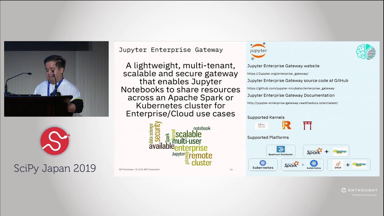 Scaling your Python interactive applications with Jupyter | SciPy Japan  2019 | Luciano Resende