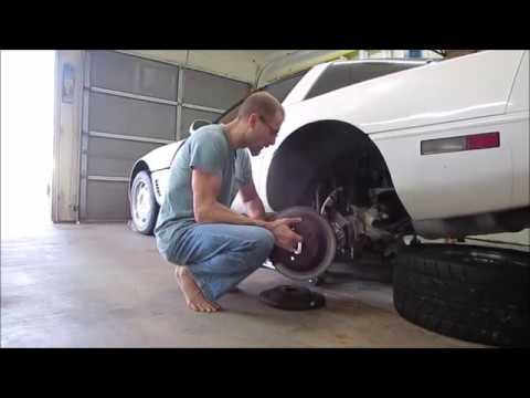 1995 C4 Corvette Restoration: Rear brakes