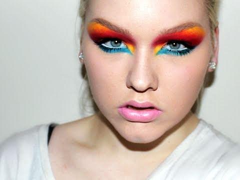 Runway Trend: Jeremy Scott Fall 2011 Makeup Tutorial