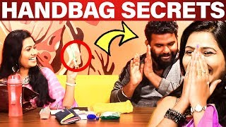 Shilpa Handbag Secrets Revealed! | What's Inside the HANDBAG