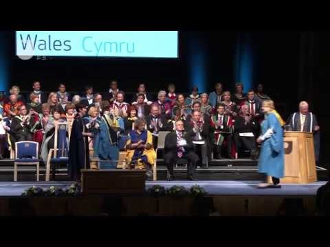 Cardiff degree ceremony, Saturday 3 May