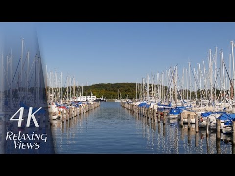 4K Ultra HD Relaxing Video: Travemünde, Germany (Baltic Sea, Beach, Trave, Harbor) - XL-Version