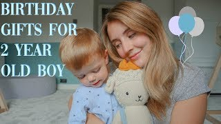 Gifts For A 2 Year Old Boy's Birthday | Presents