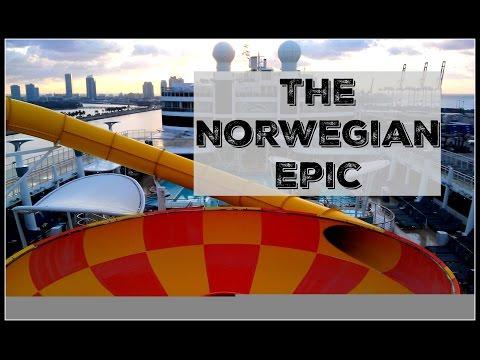 NCL Epic - Norwegian Cruise Line - Epic Ship Tour