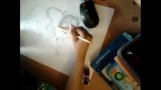 Рисуем волка.