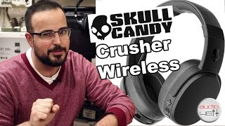 Skullcandy Crusher Wireless. Auriculares inalámbricos bluetooth con...