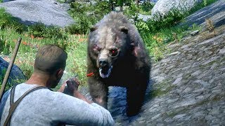 LEGENDARY GRIZZLY BEAR HUNT - THE RED DEAD REDEMPTION 2 (RDR 2 GAMEPLAY)