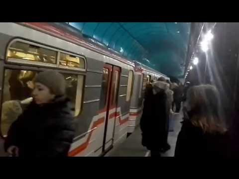 Georgian metro Station Tsereteli (Tbilisi, Georgia). Tbilisi Metro