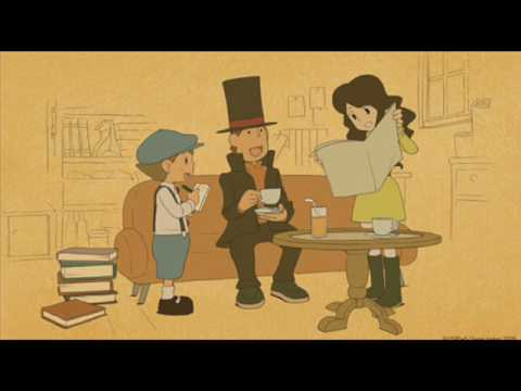 Professor Layton The Eternal Diva Picutres Credits Youtube