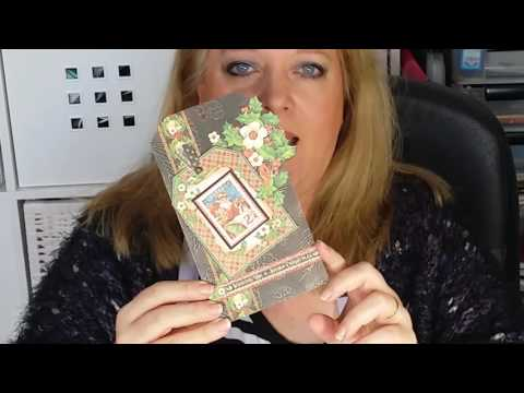 Mixed Media Christian Crafts & Christmas card making with Erica Evans