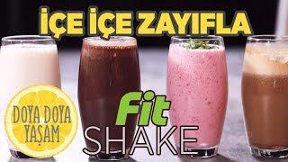 İçerek Zayıflayacağınız 4 Shake Tarifi | Yaz Sıcağına Buzlu İçecekler