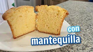 MANTECADAS DE CIELO (SIN ACEITE)