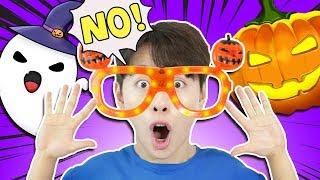 안경을 쓰면 할로윈 파티 유령이 호박귀신 보여요! 마법…