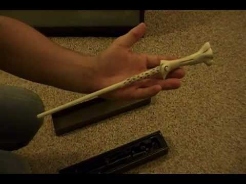 Lord voldemort illuminating wand youtube for Voldemort wand
