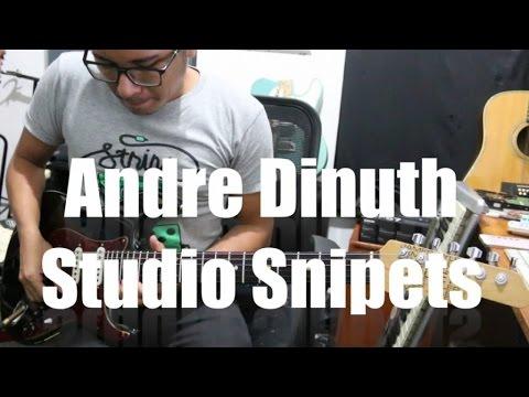 Andre Dinuth - Studio Snipets (Overdubbing a Ballad Track)