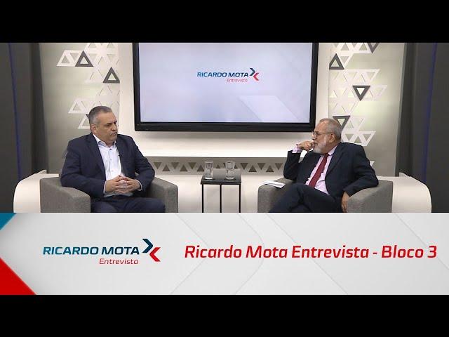 Ricardo Mota Entrevista - Bloco 3