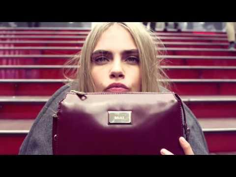 Cara Delevingne for DKNY Fall