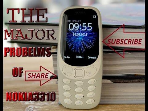 the major problem\u0027s of nokia 3310 youtube