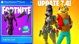*NEW* FALLEN LOVE RANGER + VBUCKS PACK! (ALL Fortnite Update 7.4 Leaked Cosmetics)
