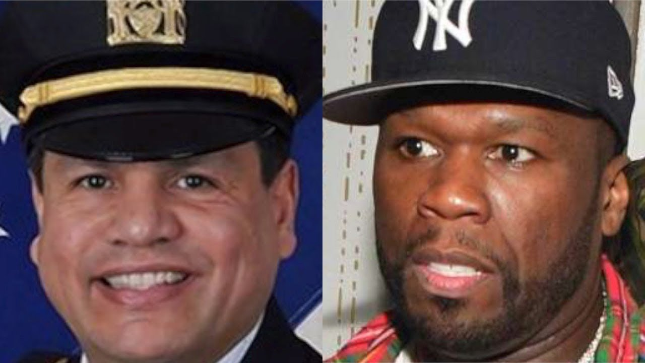 NYPD reviews alleged threat by police commander against rapper 50 Cent