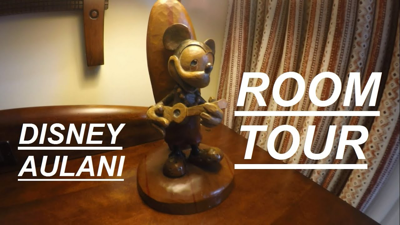 Disney Aulani One Bedroom Villa - ROOM TOUR 2016 ~ aPERaday - YouTube