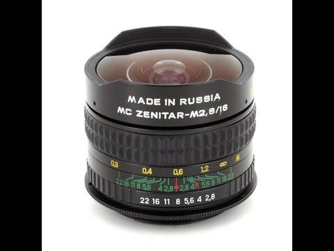 Zenitar 16mm  Fisheye Lens İncelemesi - Review