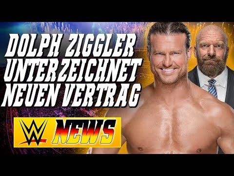 Dolph Ziggler untschreibt neuen Vertrag, Bekommt Triple H bald noch mehr Macht? | WWE NEWS 11/2018